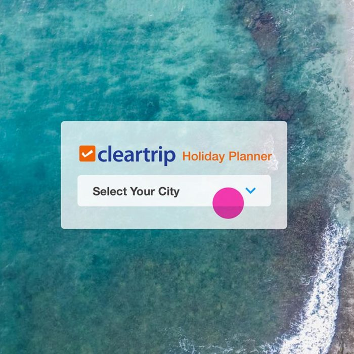 Cleartrip Holiday Planner